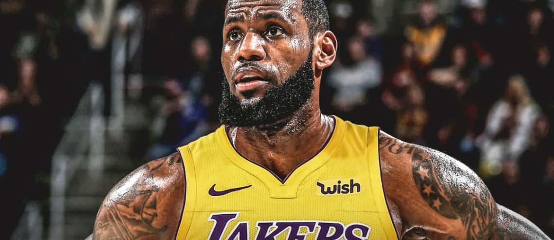 Lebron LA Lakers