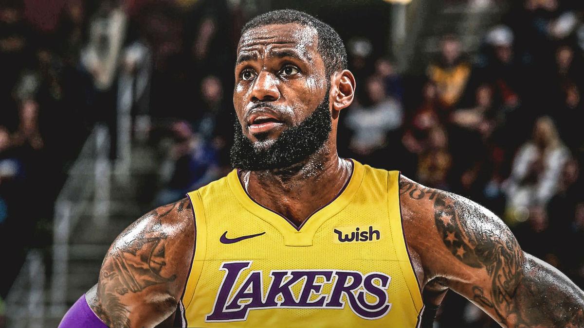 Lebron LA Lakers