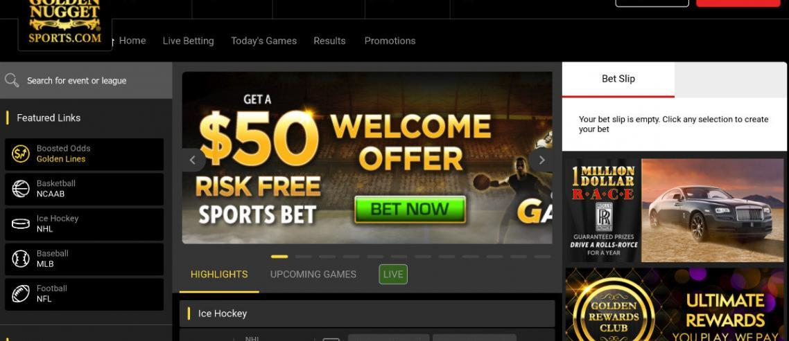 Golden Nugget Online Sportsbook