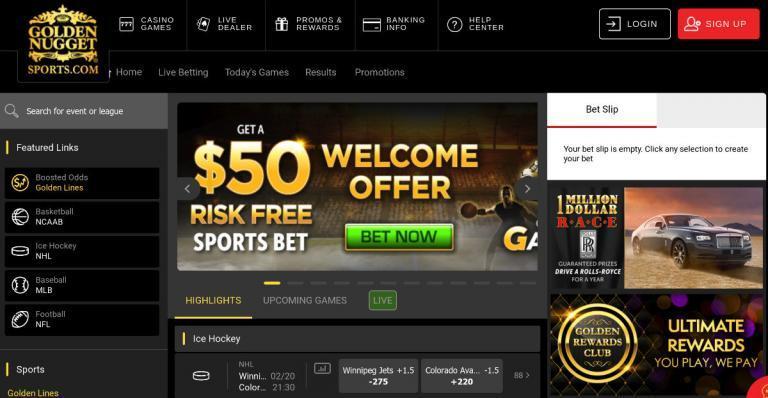 Golden Nugget Online Sportsbook