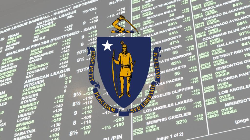 Massachusetts sports betting legislation man throws hard drive away with bitcoins stock