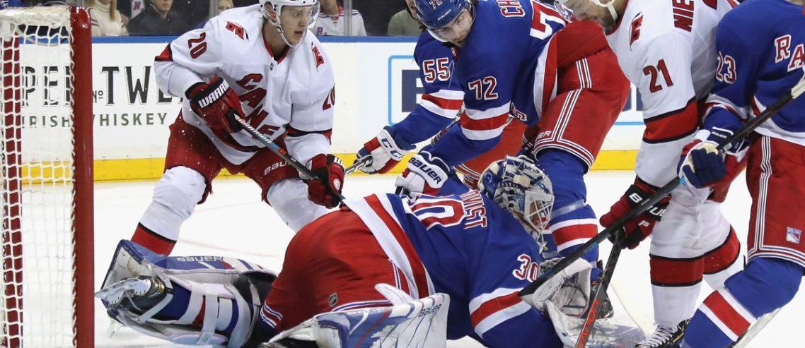 new york rangers, carolina hurricanes, NHL