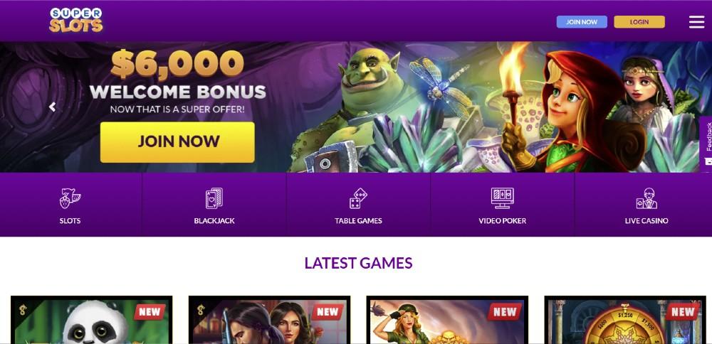 Super Slots Casino Review