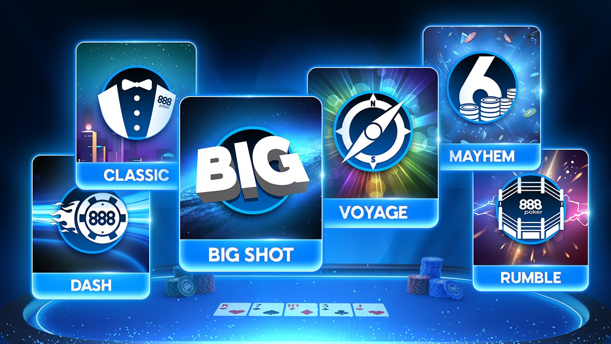 888poker Launches a Brand-New Online Tournament Schedule