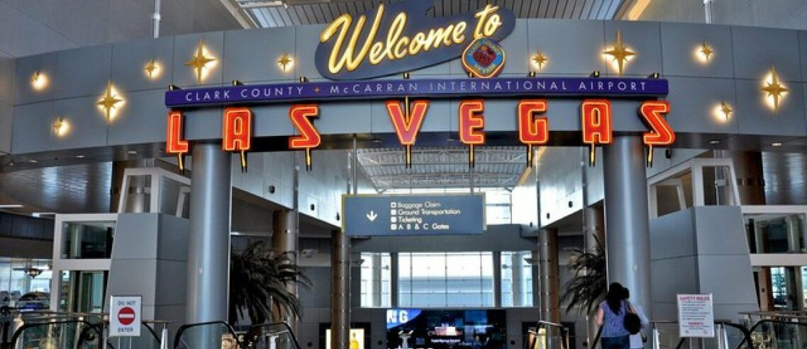 Las Vegas Casino Tourism Still on the Decline; Airport Travel Stalled