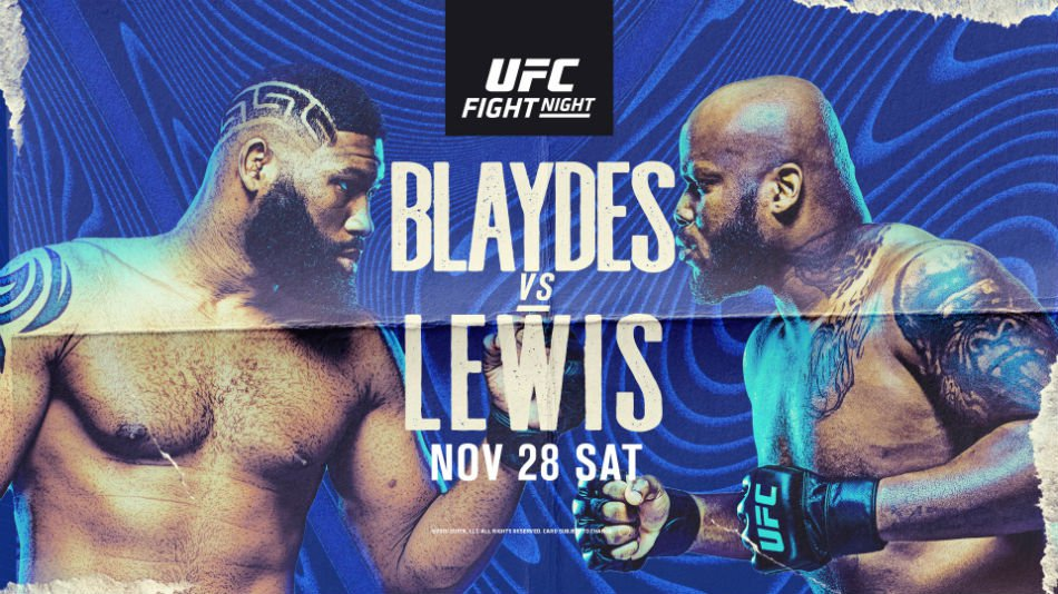 UFC Fight Night Odds: Blaydes and Lewis Square Off in Main Event