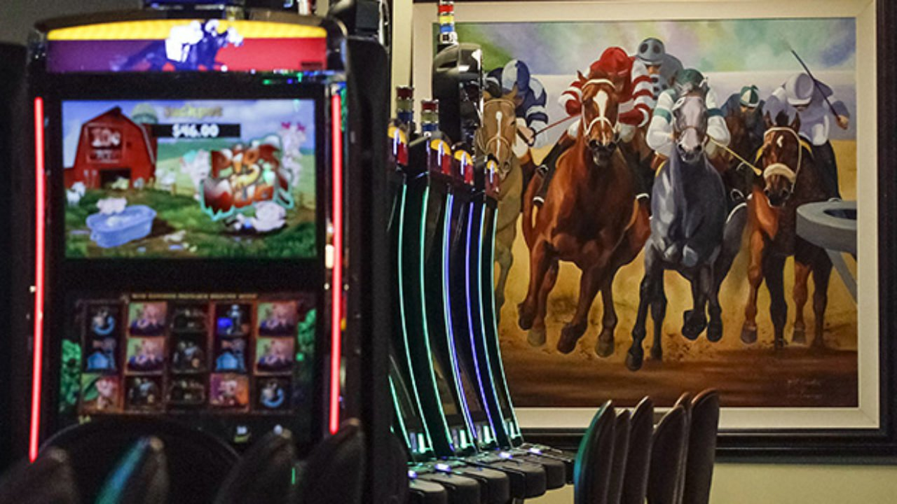 """FILE - This March 5, 2015 file photo shows video gaming terminals known as instant horse racing at Les Bois Park in Garden City, Idaho. Such machines are now banned in Idaho, but a new ballot initiative, Proposition 1, has been filed to legalize the machines. An Idaho group made up of state and local political leaders have launched a statewide effort to oppose thea ballot initiative seeking to legalize so-called """"historical horse racing."""" The group, known as Idaho United Against Prop 1, announced Wednesday, Sept. 5, 2018, it was releasing TV and radio ads urging Idahoans to vote no on the ballot initiative in November. (AP Photo/Otto Kitsinger, File)"""