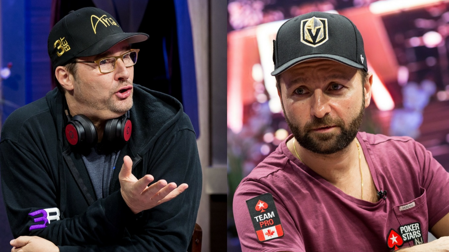 Daniel Negreanu and Phil Hellmuth Face-Off in High Stakes Duel