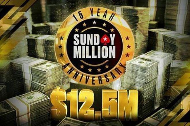 Sunday Million Anniversary Event Surpasses $13m in Prize Money