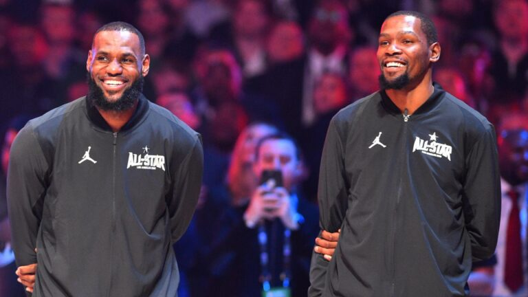 NBA All-Star Game Odds: Team LeBron Favored to Beat Team Durant