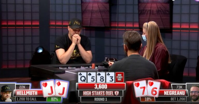 Phil Hellmuth Defeats Daniel Negreanu in High Stakes Duel: What Next for the Two Superstars?