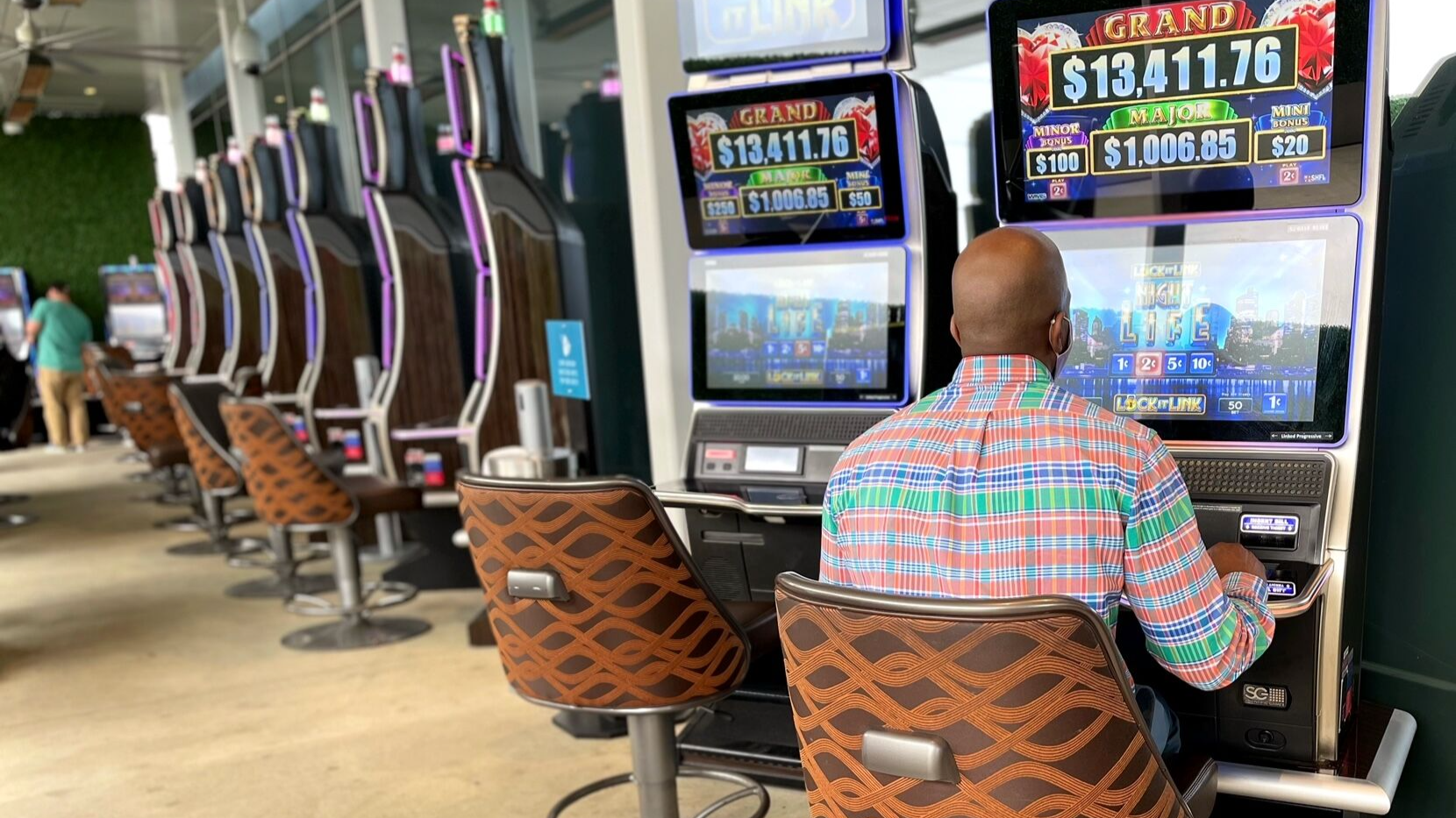 MGM National Harbor Opens New Outdoor Gaming Area