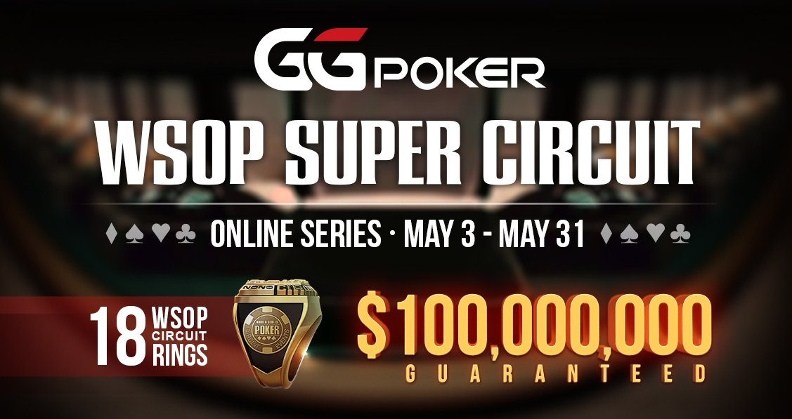 WSOP Super Circuit Online Series Returns to GGPoker With More Value Than Ever