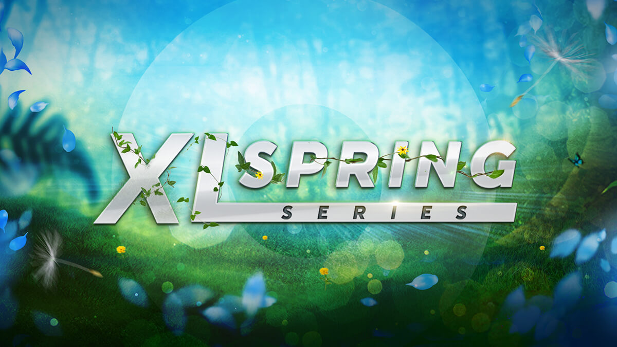 XL Spring Series Coming This Month at 888poker