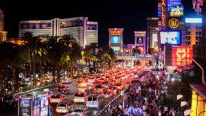 Las Vegas Experiences Busy Weekends as Full Capacity Begins